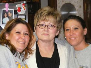 Deilia , myself, and Deidra on the right.
