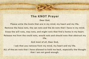 The Knot Prayer